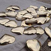 Материалы для творчества handmade. Livemaster - original item Brass pendants