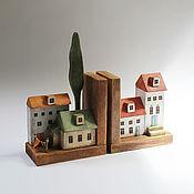 Для дома и интерьера handmade. Livemaster - original item Limiter for books, stand for books. Handmade.