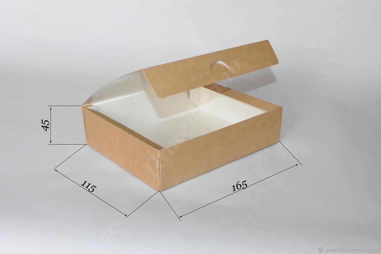 Крафт-коробка NEW - 165х115х45мм, Коробки, Москва,  Фото №1