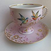 """Чайные пары ручной работы. Ярмарка Мастеров - ручная работа Чайная пара """" Заросли"""". Handmade."""