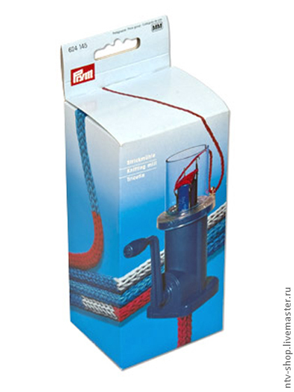 Вязание ручной работы. Ярмарка Мастеров - ручная работа. Купить Приспособление полуавтомат для плетения шнура Prym. Handmade. Приспособление, prym