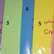 Материалы для творчества ручной работы. Ярмарка Мастеров - ручная работа Иранский фоамиран 1 мм. Handmade.