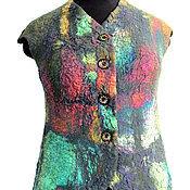 Одежда ручной работы. Ярмарка Мастеров - ручная работа Жилет Сияние. Handmade.