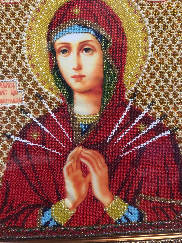 Икона «Семистрельная» Божья Матерь, Иконы, Брянск,  Фото №1