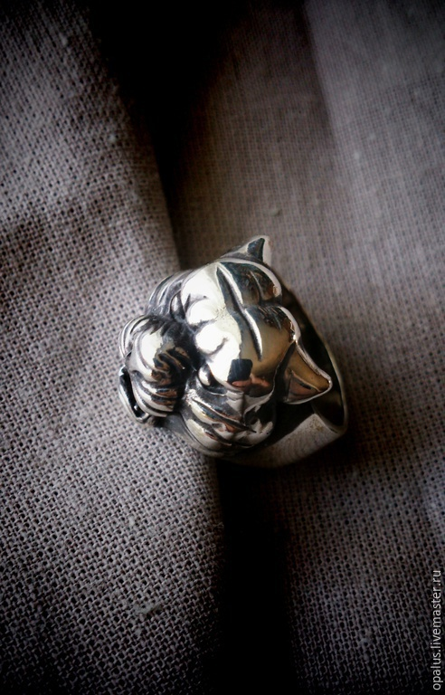 """Кольца ручной работы. Ярмарка Мастеров - ручная работа. Купить Кольцо """"Багира"""". Handmade. Серебряное кольцо, серебряное украшение"""