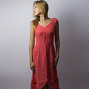 Одежда handmade. Livemaster - original item Knitted dress for wedding, graduation, for rest. Handmade.