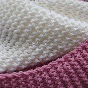 """Аксессуары ручной работы. Ярмарка Мастеров - ручная работа Снуд """"Зефир бело-розовый"""". Handmade."""