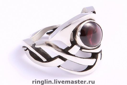 Rings handmade. Livemaster - handmade. Buy Ring of air.Large ring, brass with silver plating