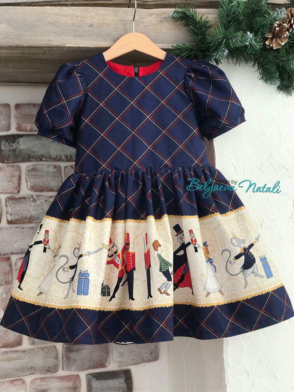 Платье «Щелкунчик» синее