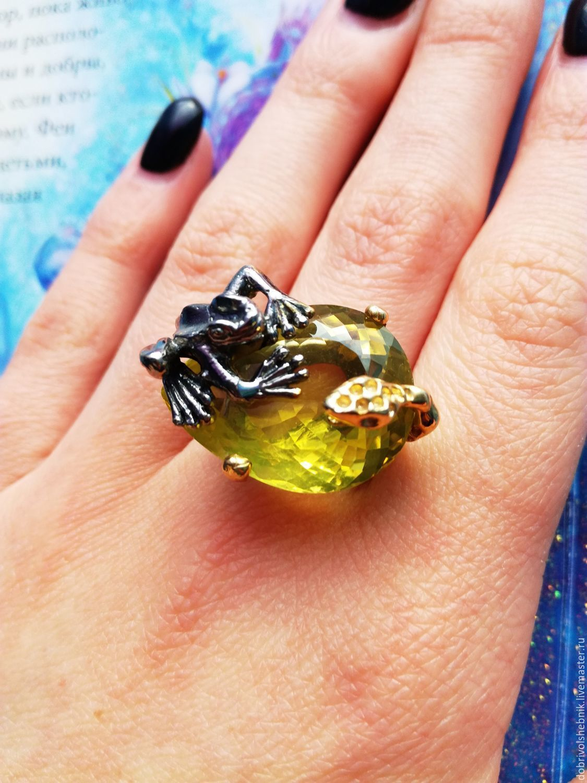 Amphibian ring with citrine, Rings, Novaya Usman,  Фото №1