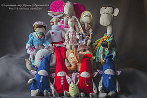 Кукольный мир Ирины Трубниковой