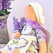 Куклы и игрушки ручной работы. Ярмарка Мастеров - ручная работа Лавандовая зайка Solange / Соланж. Handmade.