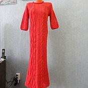 Одежда ручной работы. Ярмарка Мастеров - ручная работа Платье ручной работы Коралл. Handmade.