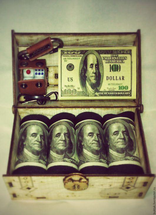 Подарки для мужчин, ручной работы. Ярмарка Мастеров - ручная работа. Купить Набор ИГРОК. Handmade. Карты игральные, подарок мужчине