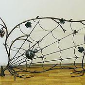 Для дома и интерьера ручной работы. Ярмарка Мастеров - ручная работа Кованый паук на виноградной лозе. Handmade.
