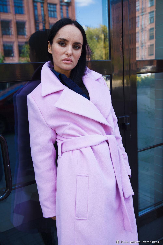 Пальто из итальянских тканей купить в москве адель пряжа