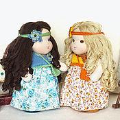 Куклы и игрушки ручной работы. Ярмарка Мастеров - ручная работа Маняши Оля и Поля. Handmade.