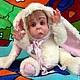 Коллекционные куклы ручной работы. Ярмарка Мастеров - ручная работа. Купить Малышка Тедди-долл. Авторская игрушка. Handmade. Белый