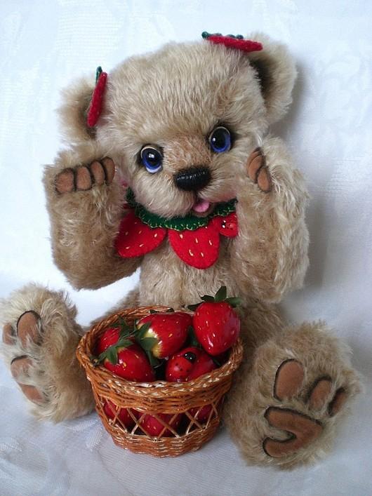 Мишки Тедди ручной работы. Ярмарка Мастеров - ручная работа. Купить Выкройка мишки-Лакомка. Handmade. Мишки тедди