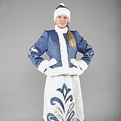 """Одежда ручной работы. Ярмарка Мастеров - ручная работа Костюм Снегурочки """"Морозная"""". Handmade."""