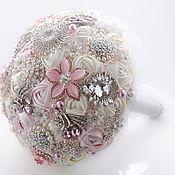 Свадебный салон handmade. Livemaster - original item wedding bouquets: Brooch-bouquet