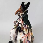 Куклы и игрушки ручной работы. Ярмарка Мастеров - ручная работа Коллекционная кукла Изумрудная Баба-Яга. Handmade.