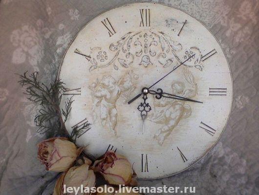 часы настенные Часы ангелочки для Вашей гостиной, спальни или детской комнаты