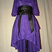 Одежда ручной работы. Ярмарка Мастеров - ручная работа Платье накидка. Handmade.