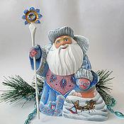 Сувениры и подарки handmade. Livemaster - original item Santa Claus Frosty pattern. Handmade.