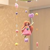 Для дома и интерьера ручной работы. Ярмарка Мастеров - ручная работа мобиль Рапунцель. Handmade.