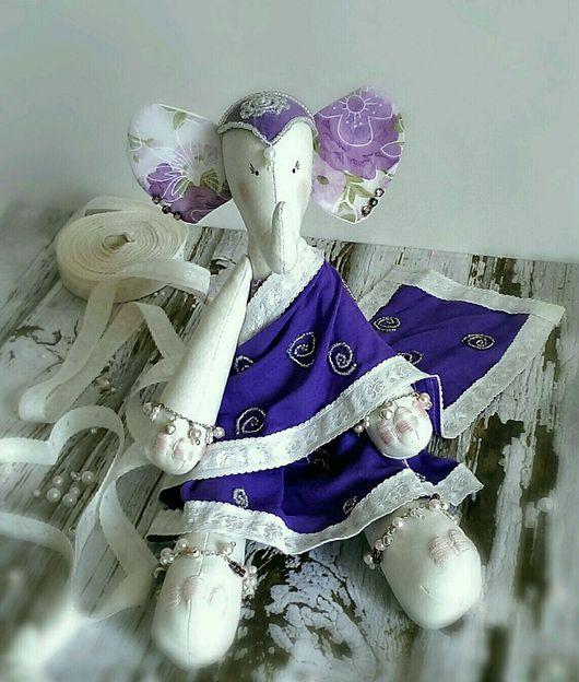 Игрушки животные, ручной работы. Ярмарка Мастеров - ручная работа. Купить Слоняша Лакшми. Handmade. Ручная работа, слон, индия