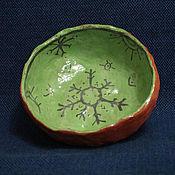 """Посуда ручной работы. Ярмарка Мастеров - ручная работа миска """"стихии"""". Handmade."""