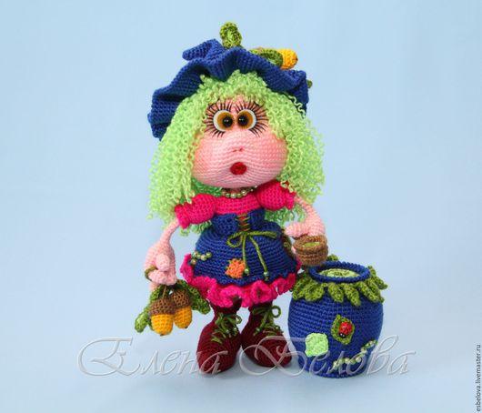 """Обучающие материалы ручной работы. Ярмарка Мастеров - ручная работа. Купить Мастер-класс по вязанию """"Куколка Лесная ведьмочка"""" (крючок). Handmade."""