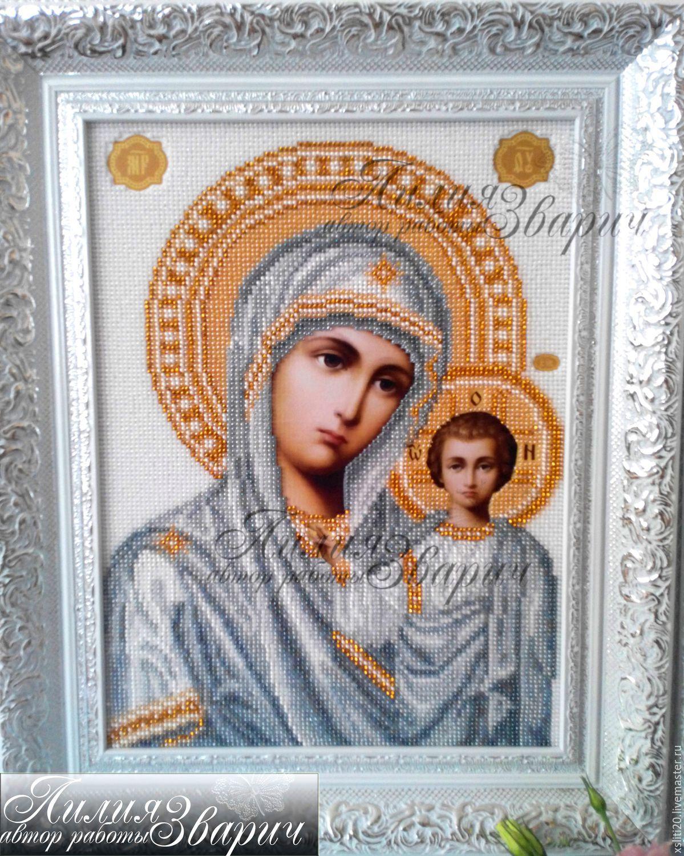 Набор для вышивания божья матерь