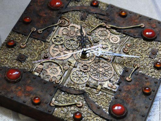 """Часы для дома ручной работы. Ярмарка Мастеров - ручная работа. Купить Часы """"От времени не убежишь"""". Handmade. Часы настенные"""