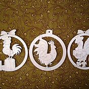 Материалы для творчества ручной работы. Ярмарка Мастеров - ручная работа Петушки в шариках,подвески. Handmade.
