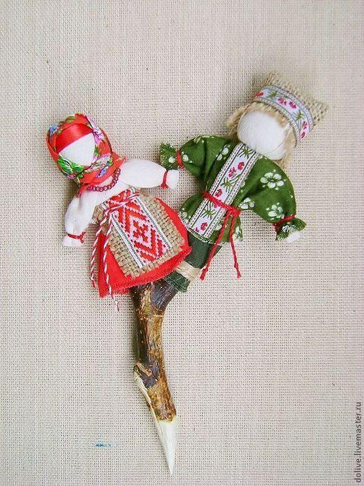 """Народные куклы ручной работы. Ярмарка Мастеров - ручная работа. Купить кукла """"Мировое древо"""". Handmade. Ярко-красный"""