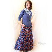 Одежда handmade. Livemaster - original item The skirt of the raincoat fabric on the fleece