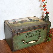 Для дома и интерьера ручной работы. Ярмарка Мастеров - ручная работа ТОСКАНА короб большой. Handmade.
