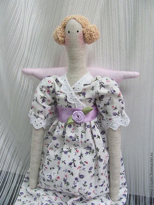 Куклы Тильды ручной работы. Ярмарка Мастеров - ручная работа. Купить Лавандовая Фея интерьерная кукла в стиле Tilda из натуральных тканей. Handmade.