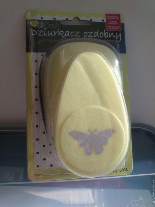 Дырокол фигурный 5 см. №281 - бабочка №4