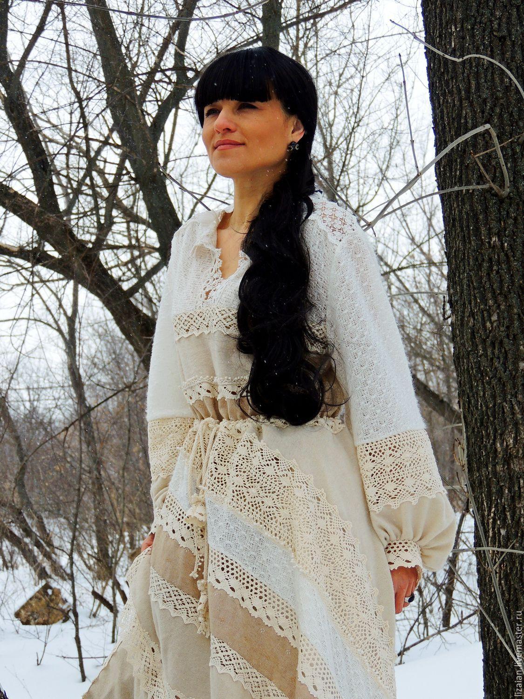 4158c11950de3 Платье зимнее в стиле БОХО (35) – купить в интернет-магазине на ...