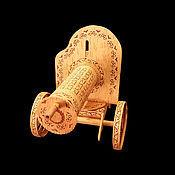 """Подарки к праздникам handmade. Livemaster - original item Пулемет """"Максим"""" из бересты. Подарок военному. Handmade."""