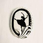 Украшения handmade. Livemaster - original item GISELLE Brooch. A series of SHADOW THEATER.. Handmade.