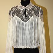 Одежда handmade. Livemaster - original item Silk blouse Exclusive. Handmade.