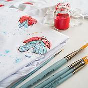 Одежда handmade. Livemaster - original item t-shirt ladybugs. Handmade.