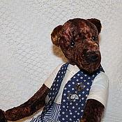 Куклы и игрушки ручной работы. Ярмарка Мастеров - ручная работа Мишка-тедди Гаврил. Handmade.