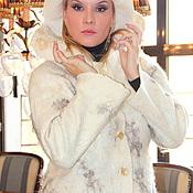 """Одежда ручной работы. Ярмарка Мастеров - ручная работа Комплект Войлок """" Снежный"""". Handmade."""