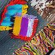 """Текстиль, ковры ручной работы. Ярмарка Мастеров - ручная работа. Купить Коврик """"Бабушкины заплатки-4"""". Handmade. Коврик, ковры"""