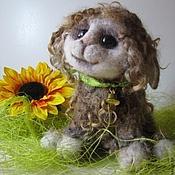 Куклы и игрушки ручной работы. Ярмарка Мастеров - ручная работа Овечка Дина интерьерная игрушка. Handmade.